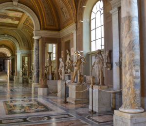 Visiting the Vatican Museums with no crowds