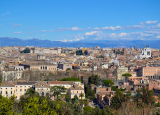 Where to find the best panoramic spots in Rome