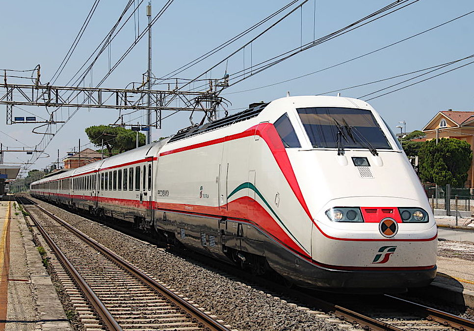 High-speed trains in Italy