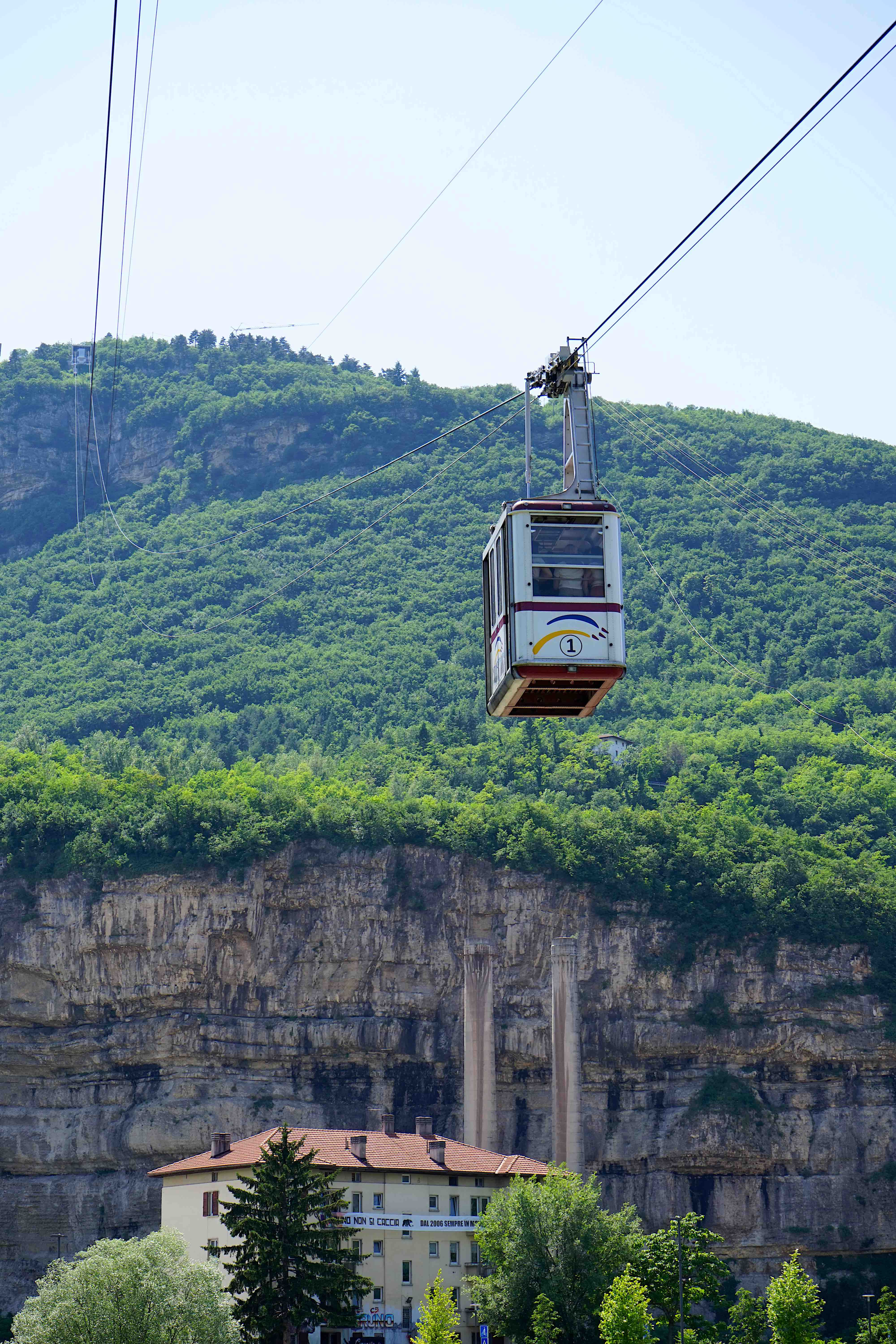Trento cable car