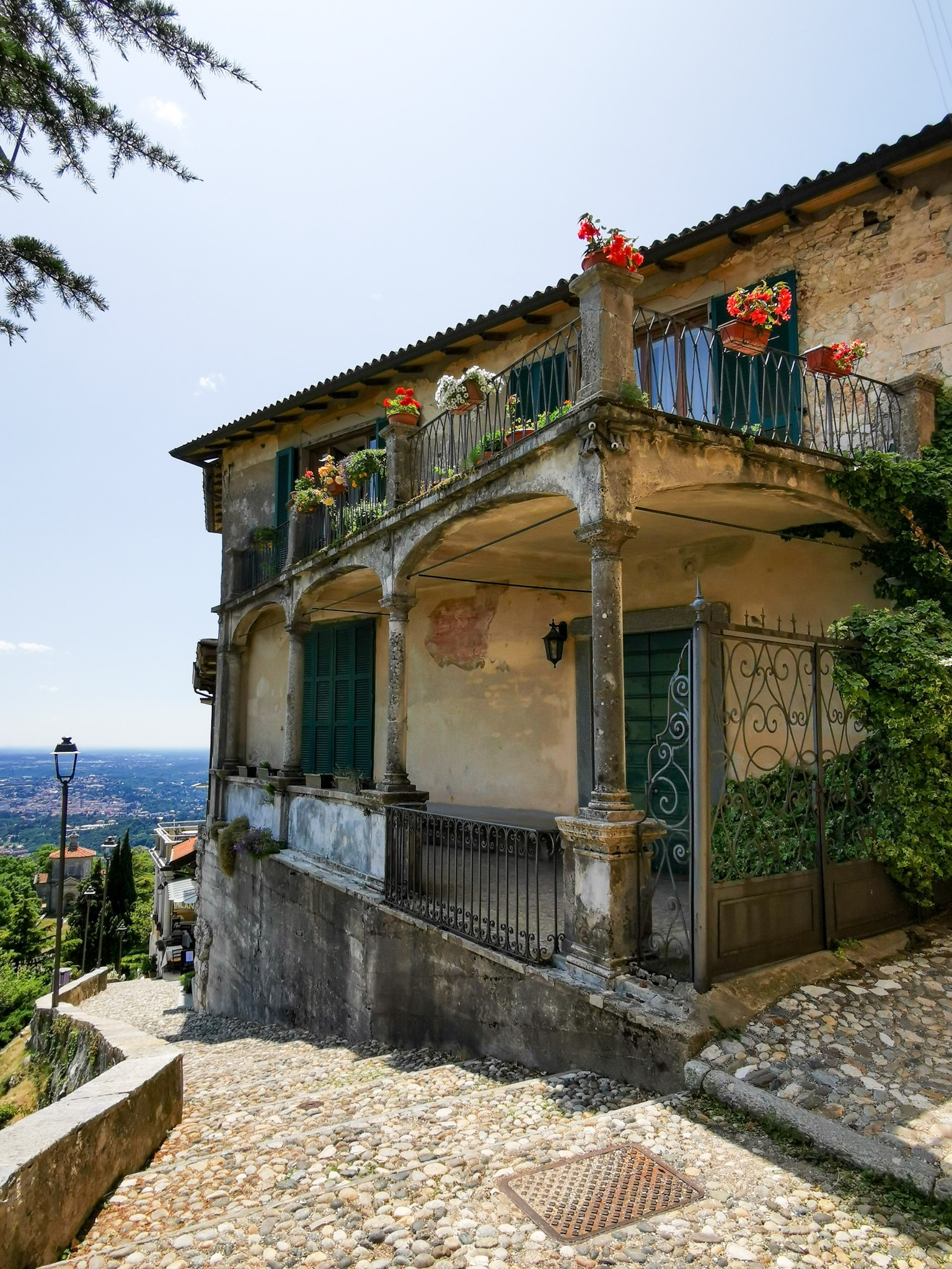 The village of Santa Maria del Monte near Varese