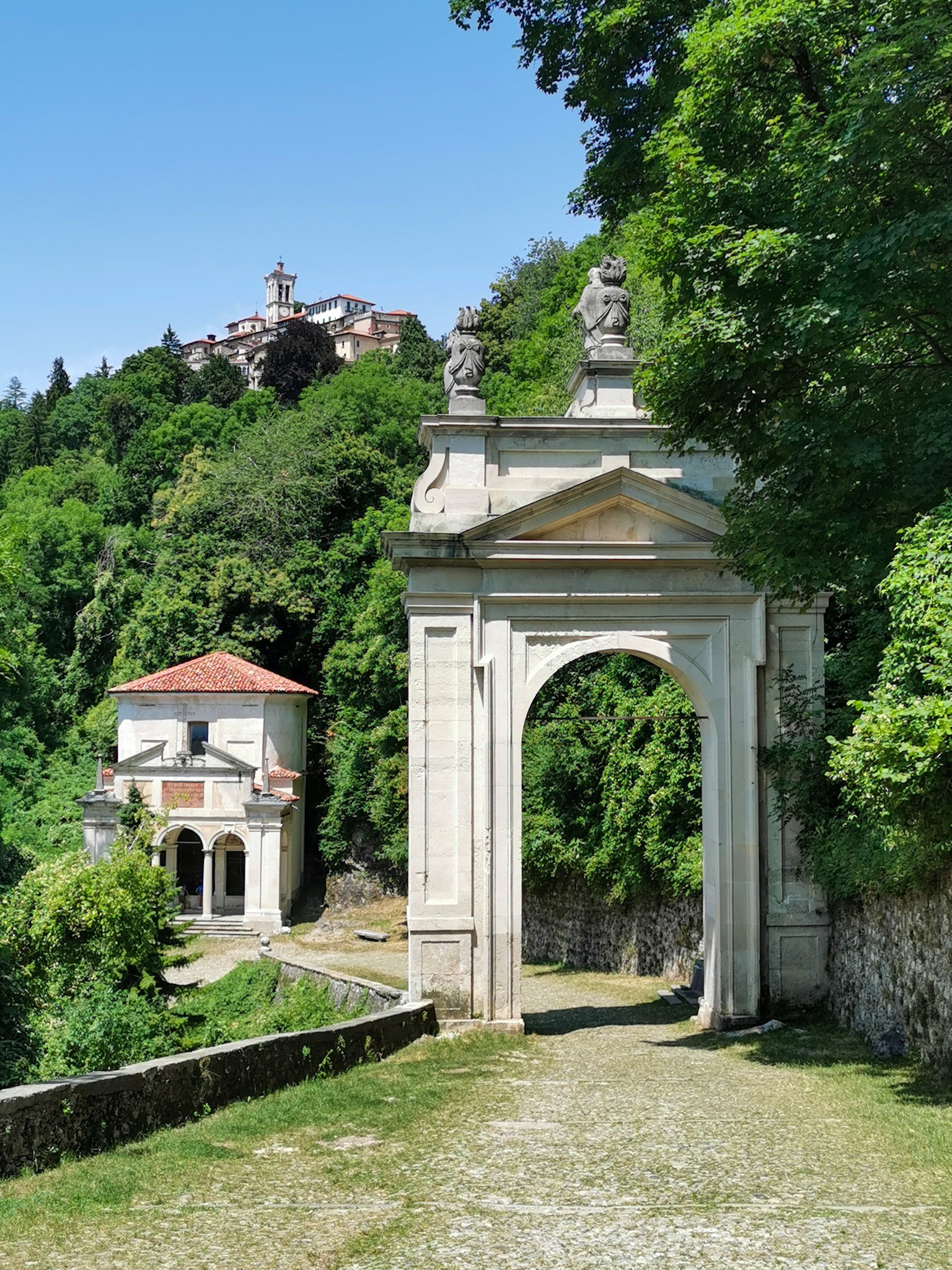 The Chapels Trail at the Sacro Monte di Varese