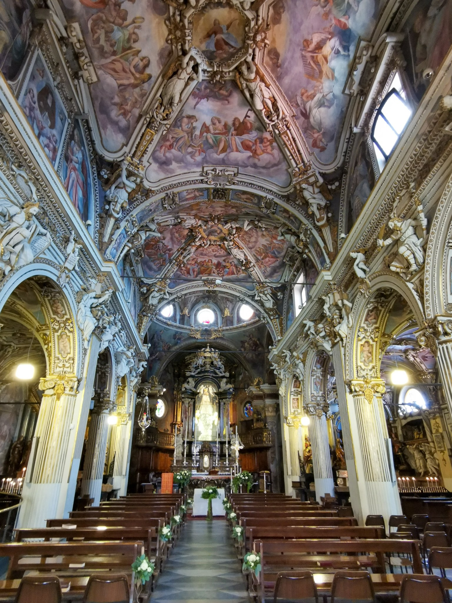 The Sanctuary of Santa Maria del Monte in Varese