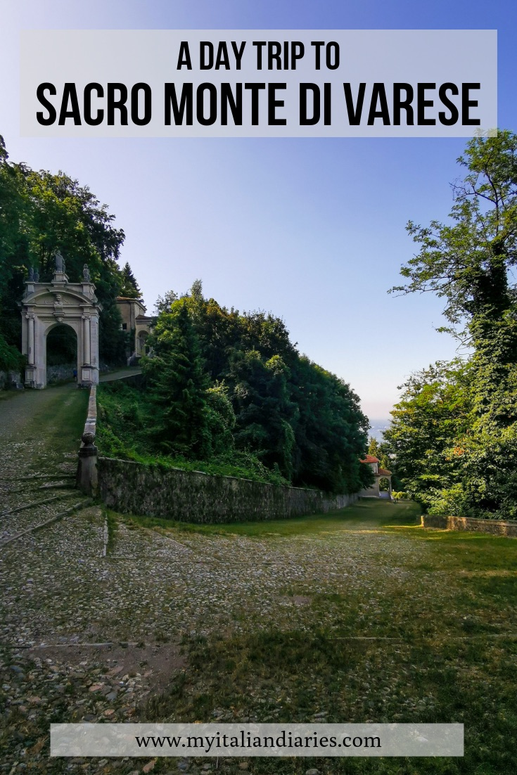 A day trip to Sacro Monte di Varese on Pinteresr