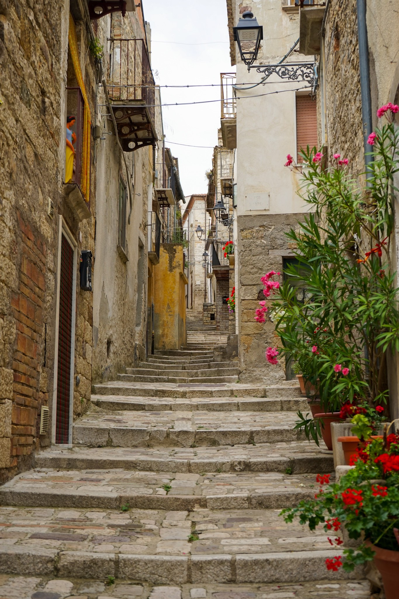 The village of Civitacampomarano, in the Italian region of Molise