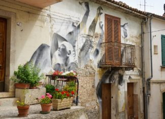 Civitacampomarano, the street art capital of Molise