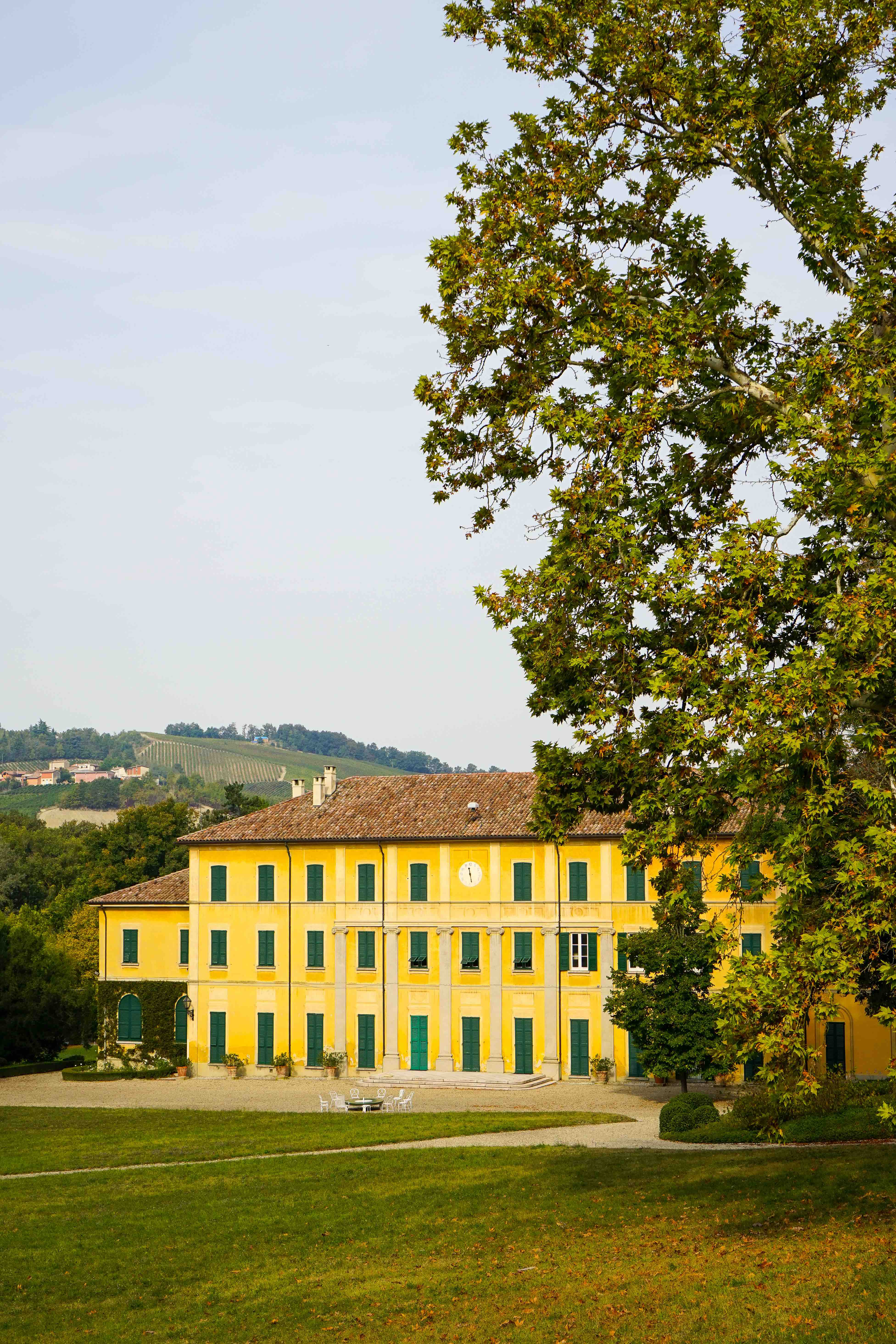 The Conte Vistarino winery in Oltrepò Pavese