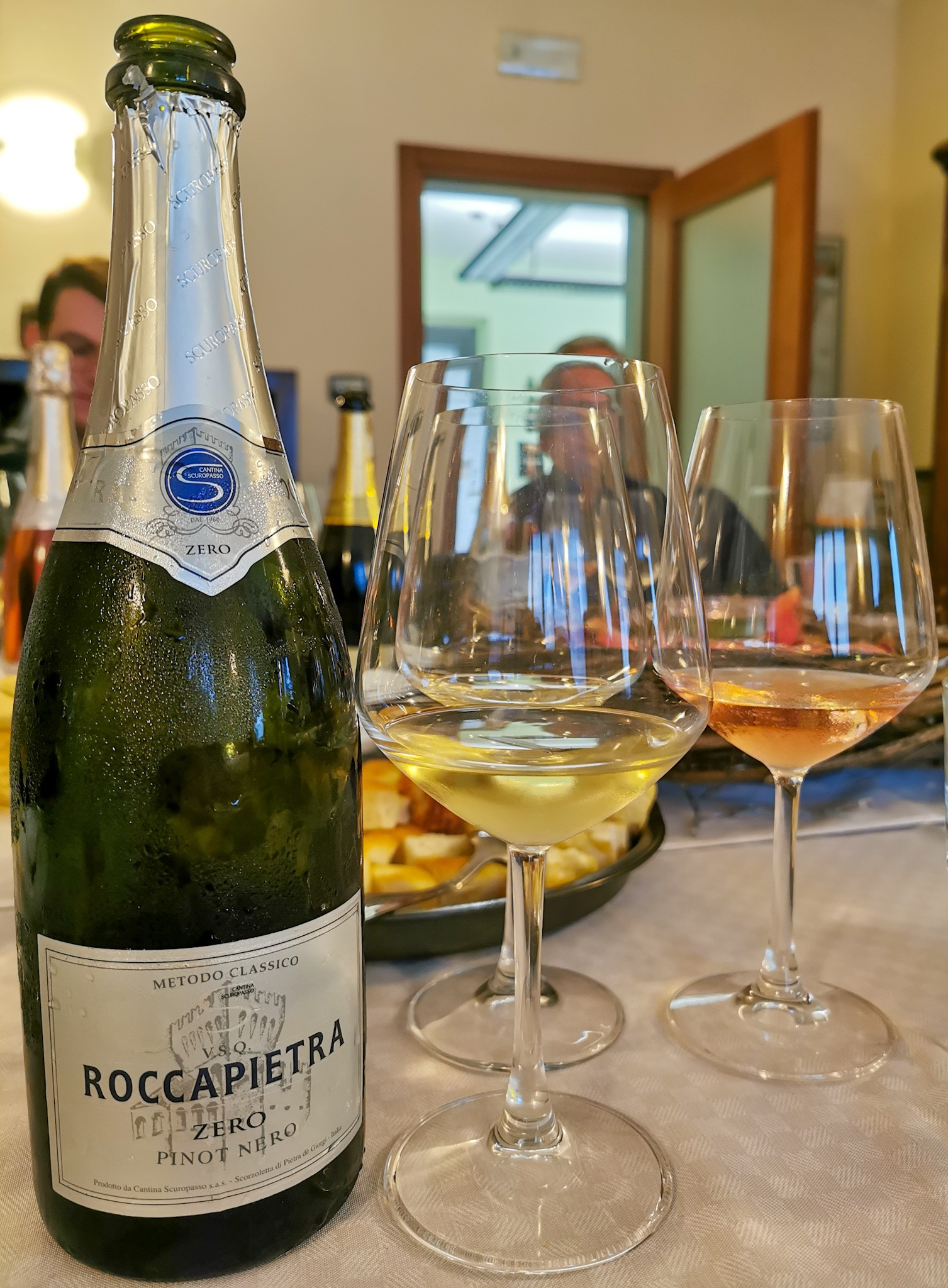 Roccapietra wine from Cantina Scuropasso in Oltrepò Pavese