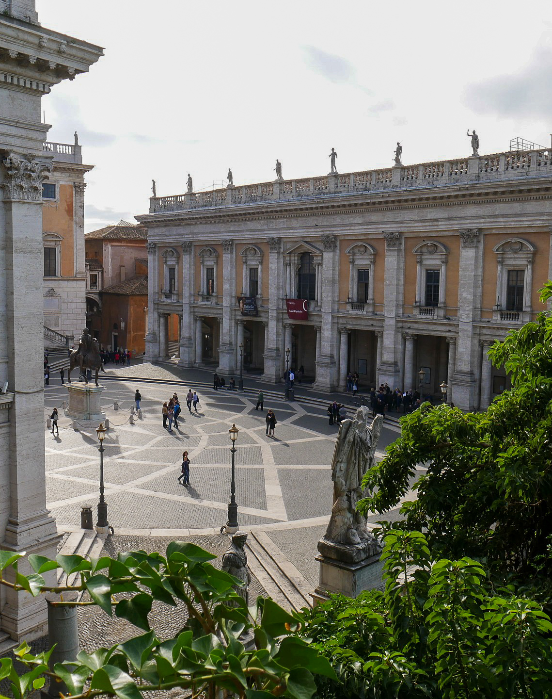 The Capitoline Museums in Rome, which are considered the first example of a modern museum