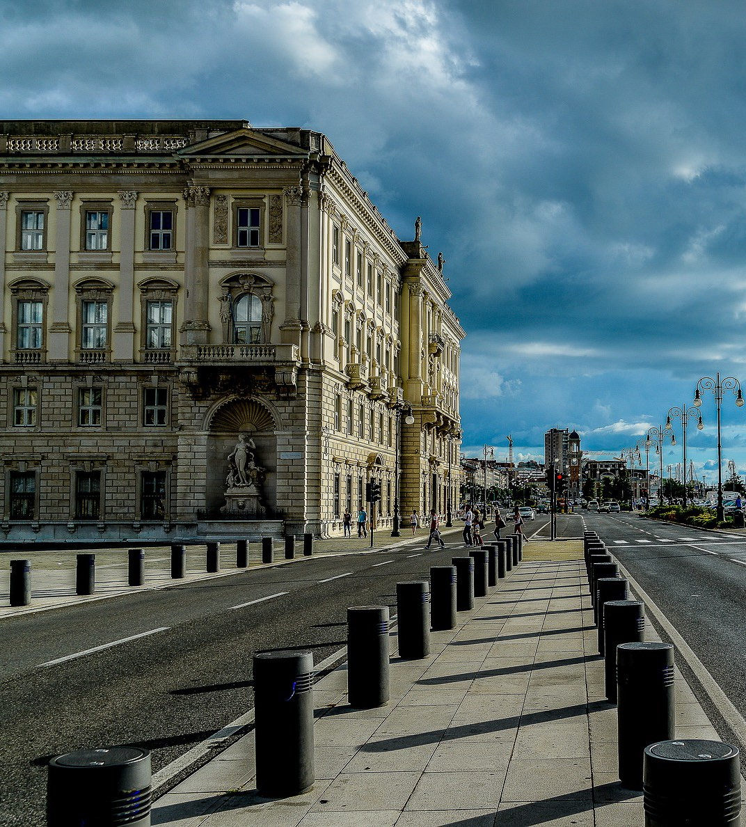 A view of Trieste, the elegant port city on the Adriatic