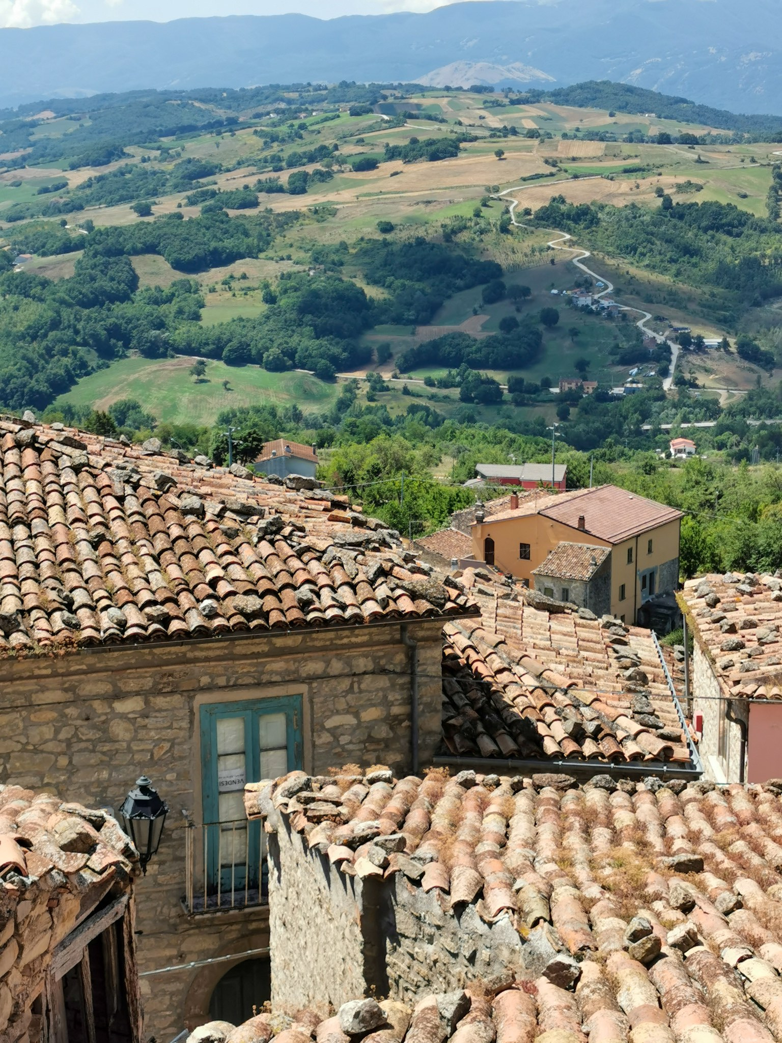 The village of Casalciprano in Molise