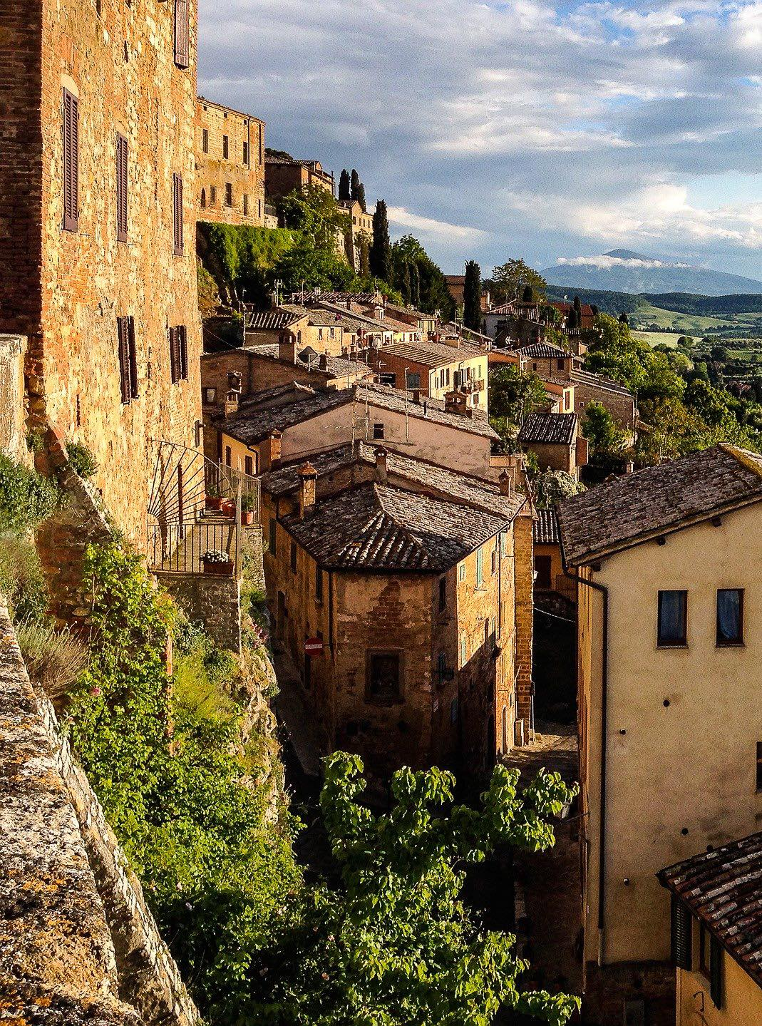 A view of Montepulciano in Tuscany
