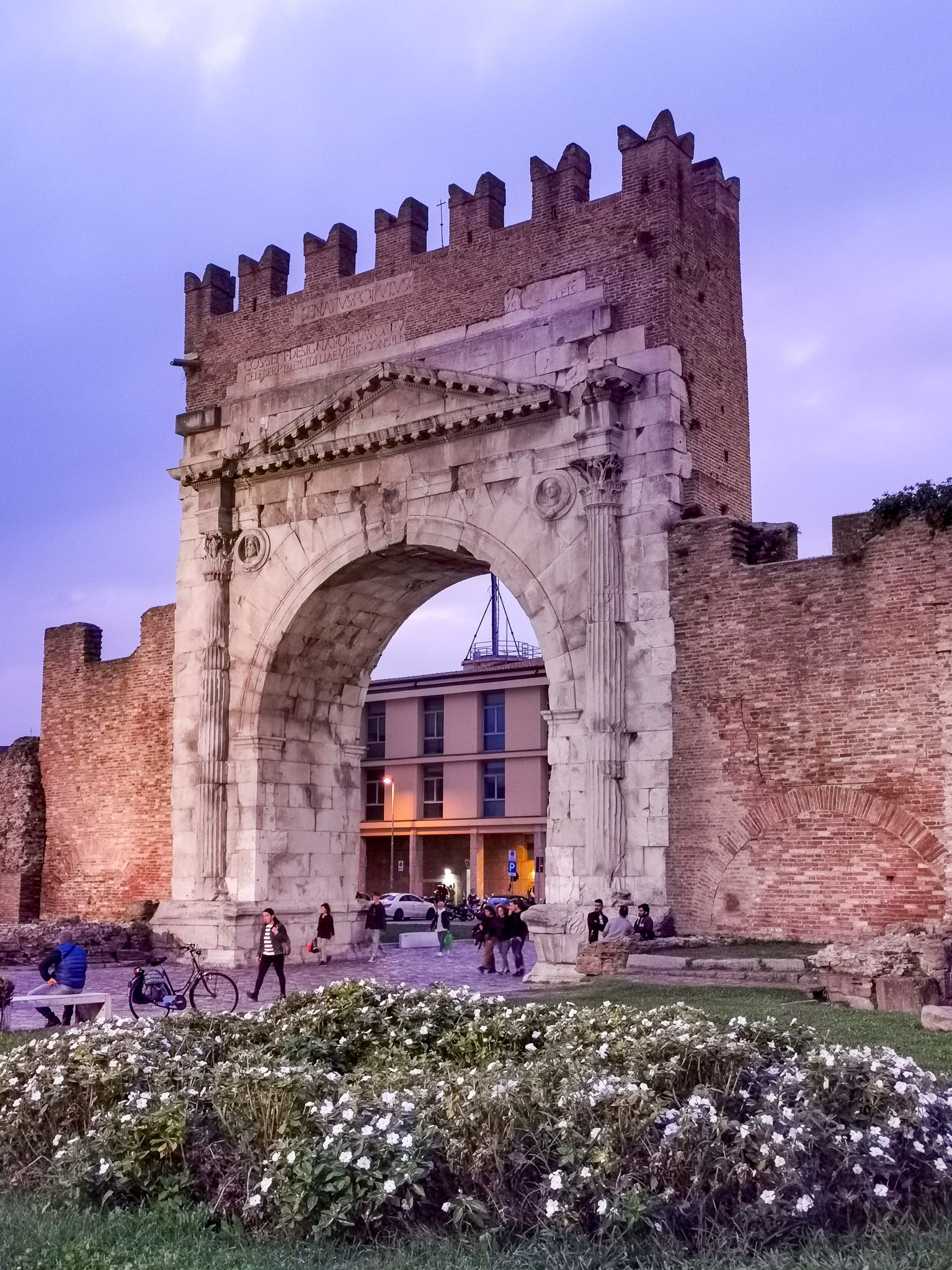 The Arch of Augustus at Rimini