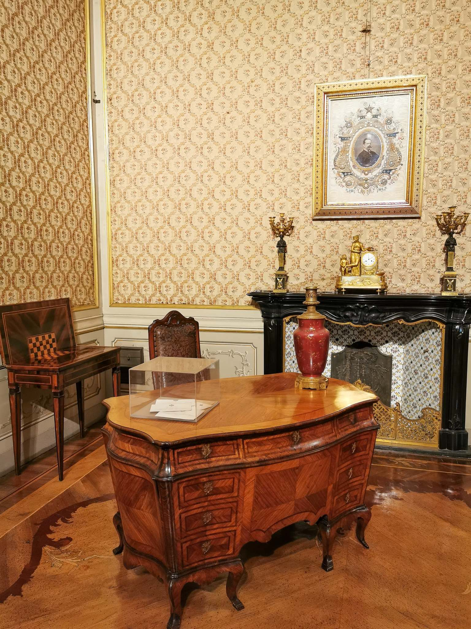 The interiors of the Royal Villa in Monza