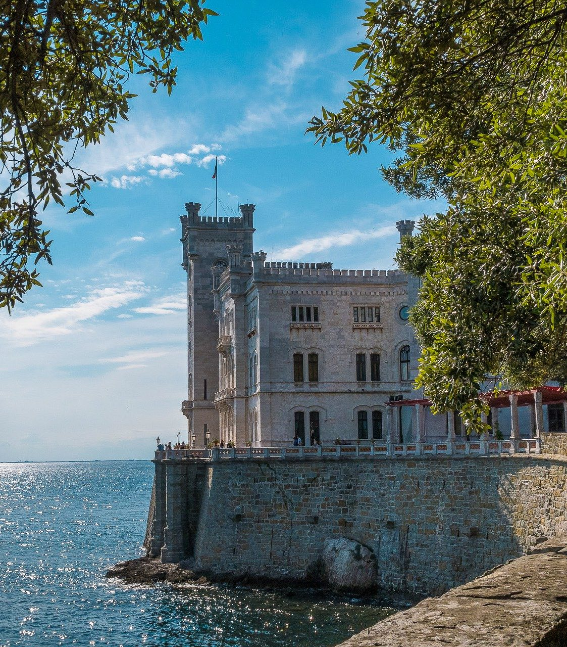 The castle of Trieste