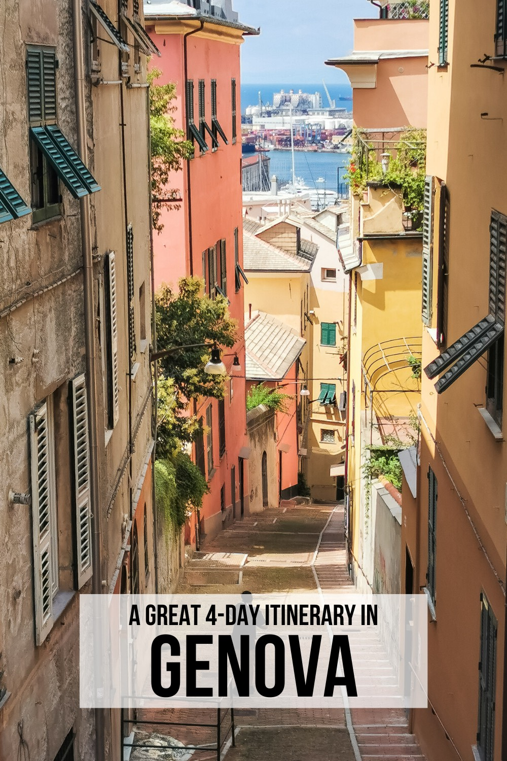 A great 4-day itinerary to visit Genoa