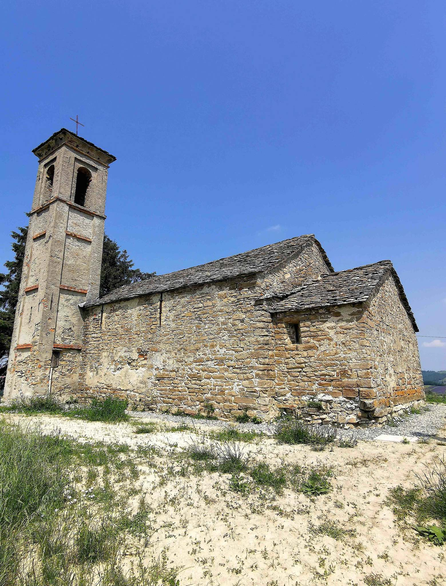The Chapel of St Anastasia in the village of Sale San Giovanni in Piedmont
