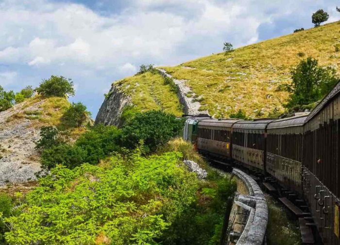Traveling on the Italian Trans-Siberian railway