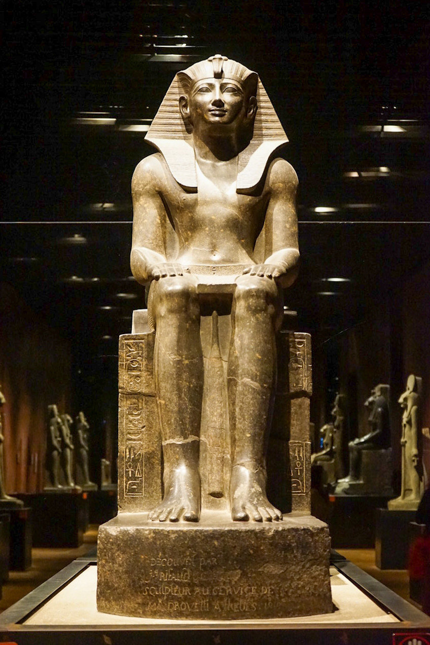 The Hall of Kings at the Egyptian Museum of Turin