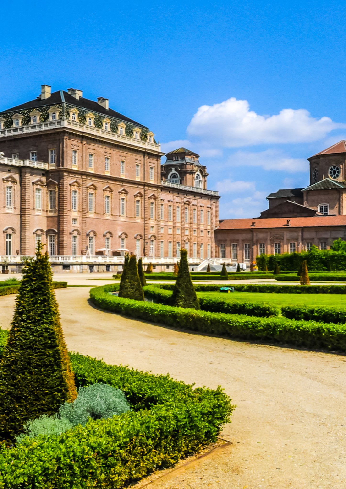 The Royal Palace of Venaria, the' stunning estate of the Savoy family located on the outskirts of Turin