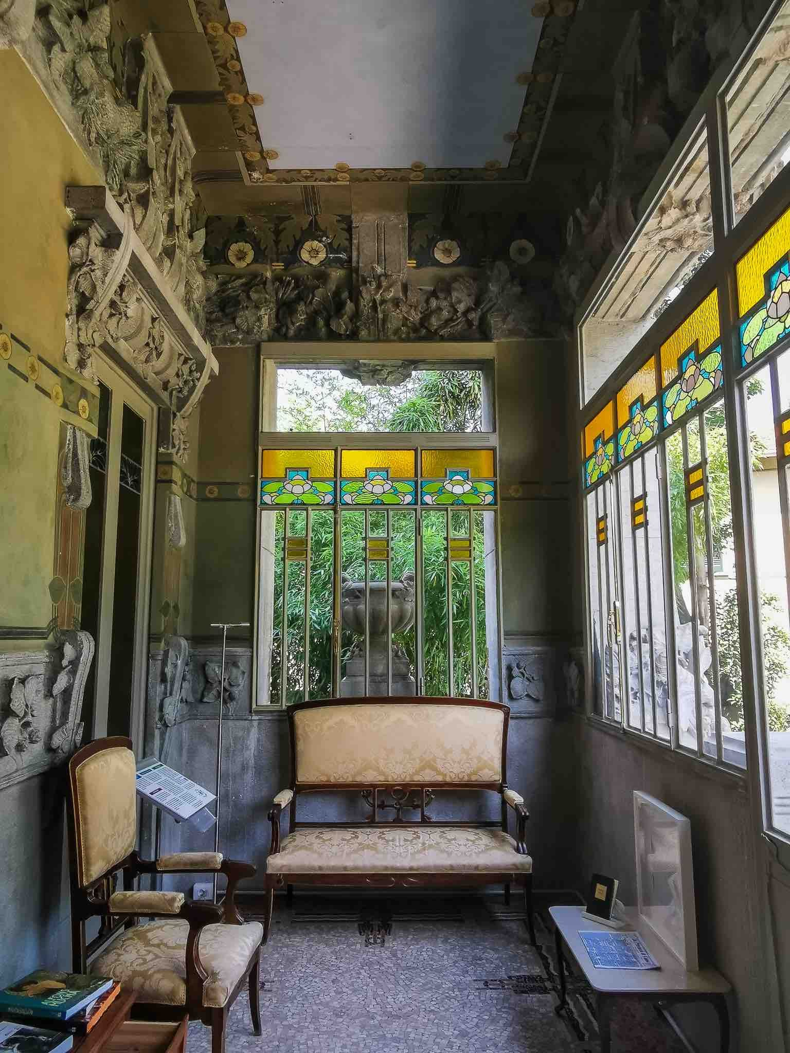 The stunning interiors of Villa Bernasconi, a rare example of Liberty style in Lake Como