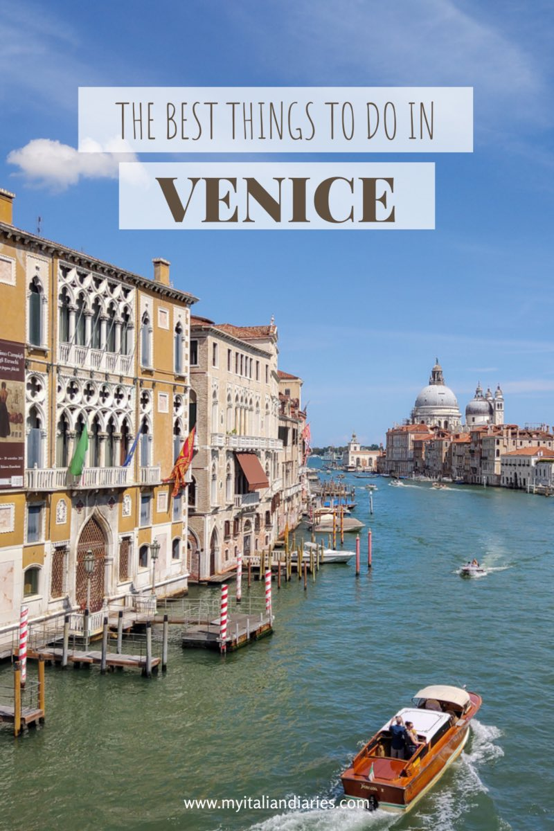 The Grand Canal in Venice